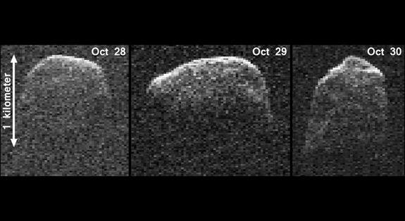 Mile-Wide Asteroid's Many Faces Revealed in NASA Photos