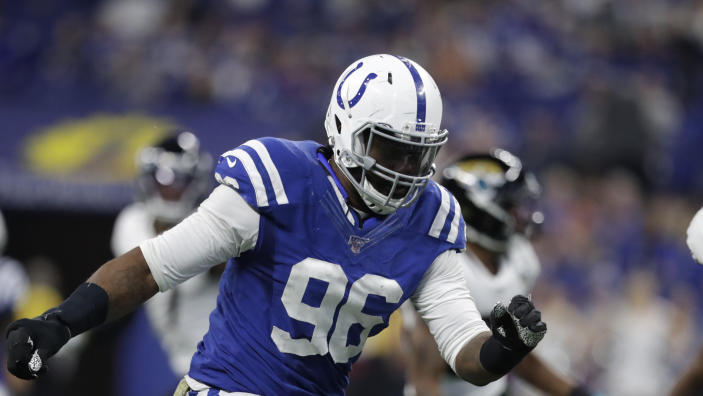 Indianapolis Colts defensive tackle Denico Autry