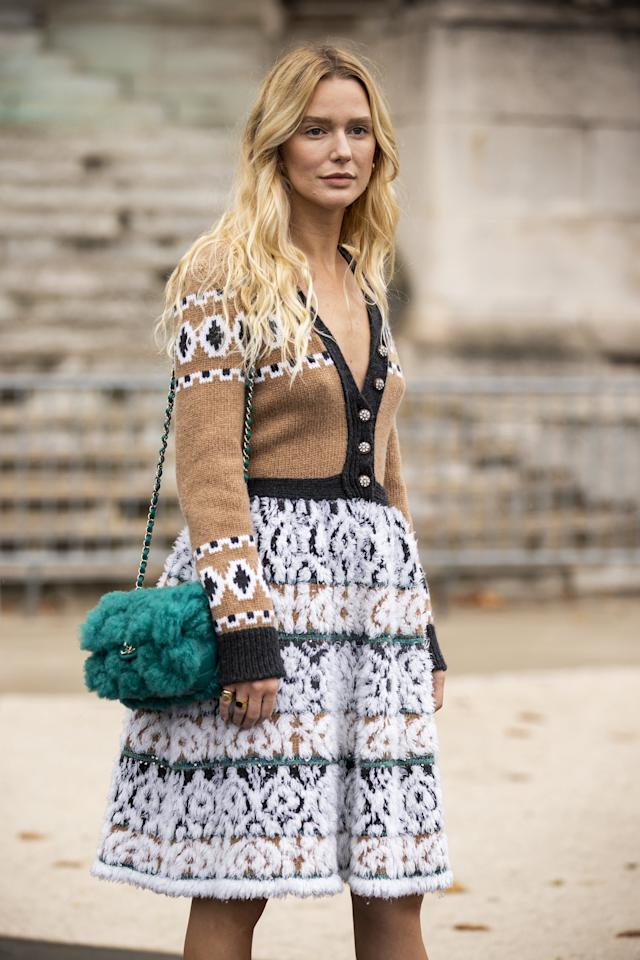 <p>The classic is back, and this time, the styling's not so basic. Wear it buttoned-up as a top, thrown over the shoulders, or even backward. This 2020 investment may be the most versatile in your whole wardrobe.</p>