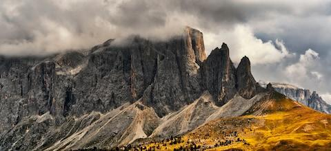 The Sella Towers - Credit: GETTY