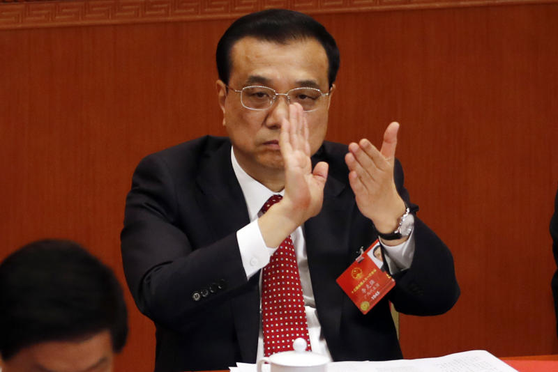 China's premier appeals to US to 'act rationally' over trade