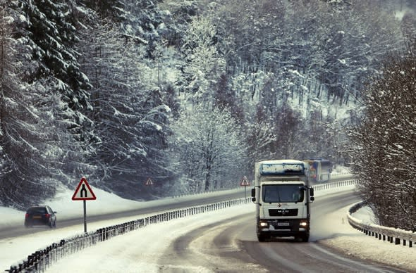 Big Freeze hits! Britain braced for more storms and temperatures of -15C