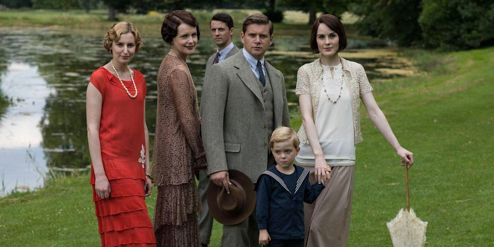 "<p>In preparation for the upcoming<a href=""https://www.townandcountrymag.com/leisure/arts-and-culture/a22139335/downton-abbey-movie-news/"" rel=""nofollow noopener"" target=""_blank"" data-ylk=""slk:film adaptation of Downton Abbey"" class=""link rapid-noclick-resp""> film adaptation of Downton Abbey</a>, take a look back at the television series to remind yourself of where Lady Mary, Lady Edith, and the members of their downstairs staff left off. Or, if you've never watched the show, enjoy all Crawley family drama for the very first time.</p><p><strong>How to Watch:</strong> <em>Downton Abbey</em> is available on <a href=""https://www.amazon.com/Downton-Abbey-Original-Version-Episode/dp/B004KAJLNS/ref=sr_1_1?s=instant-video&ie=UTF8&qid=1517440464&sr=1-1&keywords=downton+abbey&tag=syn-yahoo-20&ascsubtag=%5Bartid%7C10063.g.35536528%5Bsrc%7Cyahoo-us"" rel=""nofollow noopener"" target=""_blank"" data-ylk=""slk:Amazon Video"" class=""link rapid-noclick-resp"">Amazon Video</a>.</p><p><strong>More</strong>: <a href=""https://www.townandcountrymag.com/leisure/arts-and-culture/news/g2128/shows-to-watch-after-downton-abbey/"" rel=""nofollow noopener"" target=""_blank"" data-ylk=""slk:8 Shows to Watch If You Loved Downton Abbey"" class=""link rapid-noclick-resp"">8 Shows to Watch If You Loved <em>Downton Abbey</em></a><br></p>"