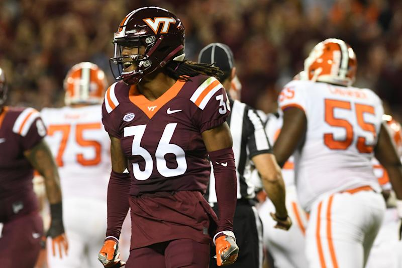 Adonis Alexander won't be traveling too far for his next stop as he was Washington's selection in the 2018 supplemental draft. (AP)