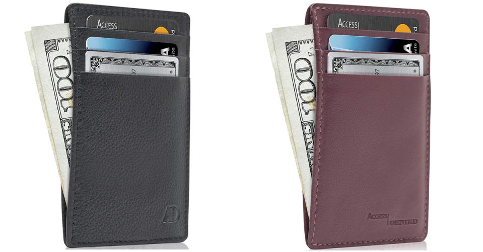 Access Denied Slim Front Pocket Wallet for Men and Women (Photo: Amazon)
