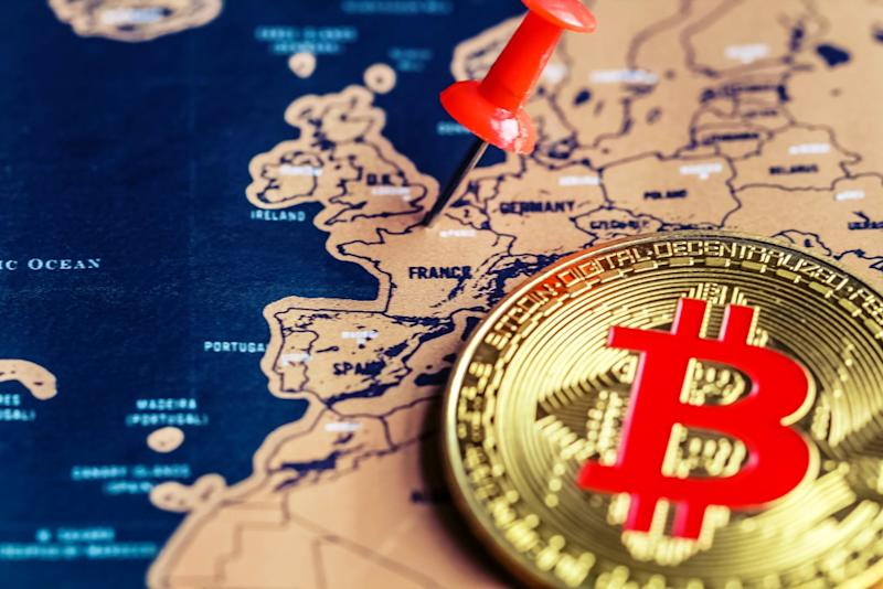 Don't expect France to hop on the crypto train anytime soon. | Source: Shutterstock