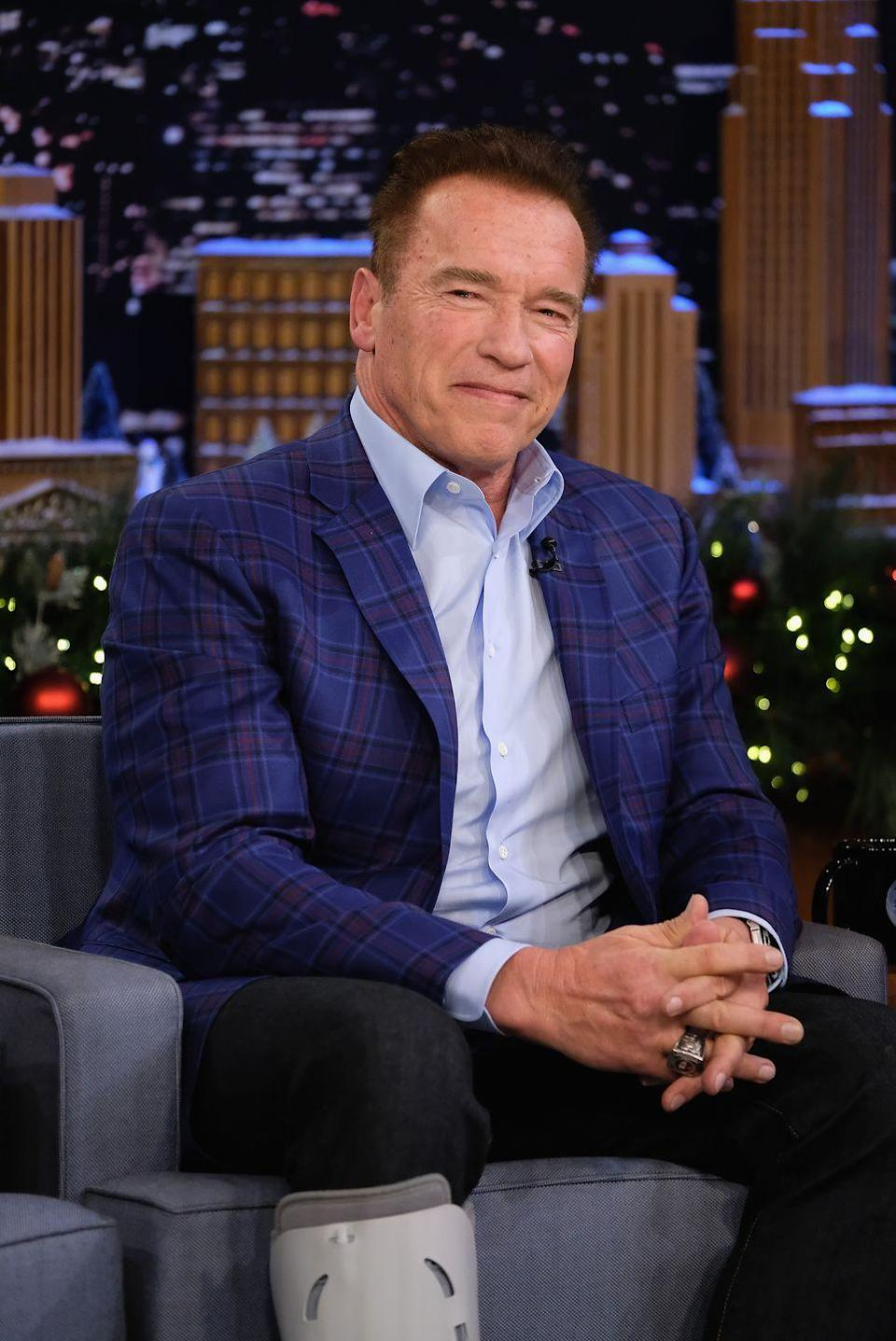 "<p>Schwarzenegger starred in the 1985 film <a href=""http://www.eonline.com/photos/15445/celebs-who-hate-their-own-movies/469682"" rel=""nofollow noopener"" target=""_blank"" data-ylk=""slk:revealing"" class=""link rapid-noclick-resp"">revealing</a>,""It's the worst film I have ever made. When my kids get out of line, they're sent to their rooms and forced to watch <em>Red Sonja </em>10 times. I never had too much trouble with them.""</p>"