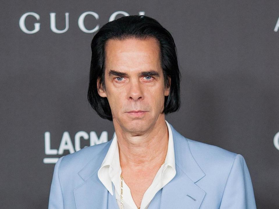 Nick Cave in LA in 2019 (Rex Features)