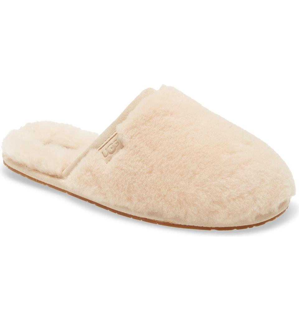 """<p>""""Being cozy in cold weather is always my number-one priority. I can't wait to wear these <span>Ugg Fluffette Slippers</span> ($90) this fall and winter while I'm lounging at home."""" - MCW</p>"""