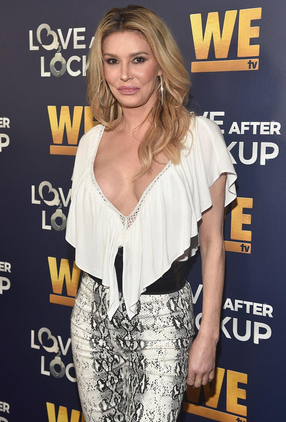 Brandi Glanville Cries Over Photos of Herself Looking 'Wasted': 'I Embarrassed My Kids'