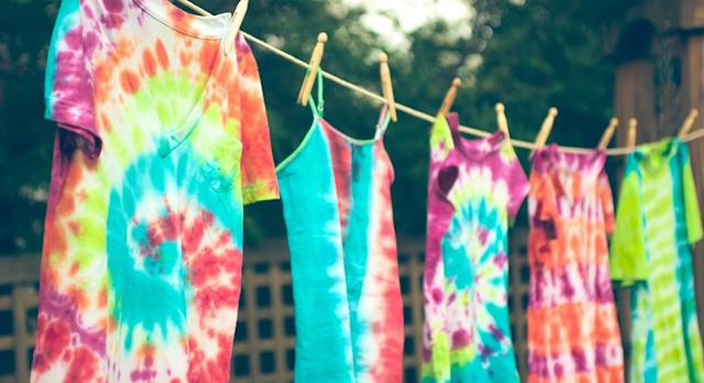 This tie-dye kit has everything you need to get started. (Getty Images)