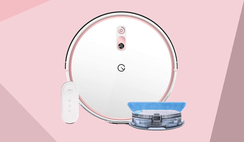 Keep your home clean and save 43 percent on this top-rated robot vacuum. (Photo: Yeedi)