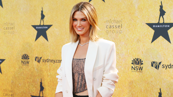 Delta Goodrem revealed that even though she beat cancer 18 years ago, it's something that's still very much in her life today (Image: Getty Images)