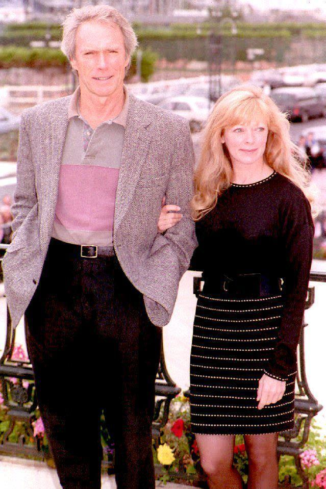"""<p>The actor began dating his costar from <em>Pink Cadillac</em>, Frances Fisher, in 1990. The two <a href=""""https://abcnews.go.com/Entertainment/clint-eastwoods-women/story?id=20235215"""" rel=""""nofollow noopener"""" target=""""_blank"""" data-ylk=""""slk:lived together for the next five years"""" class=""""link rapid-noclick-resp"""">lived together for the next five years</a>. In 1993, they welcomed a daughter, Francesca Fisher.</p>"""