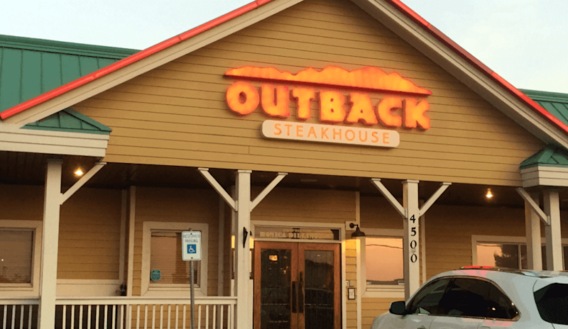 Outback's Parent Is Very Happy With Its Delivery Business