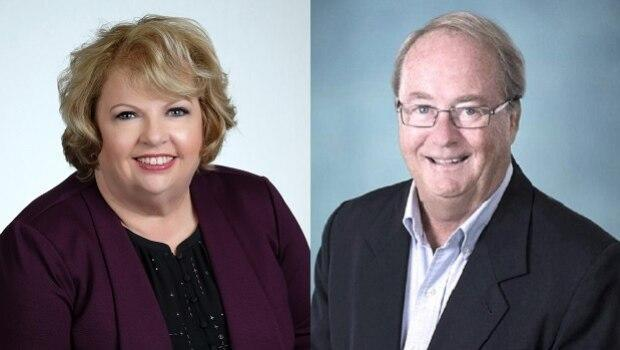 Surrey Mayor Doug McCallum and Coun. Brenda Locke have both said they will run for mayor in the October 2022 municipal election.  (CBC - image credit)