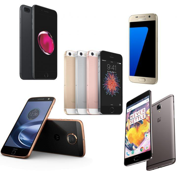 Smartphone holiday gift guide.