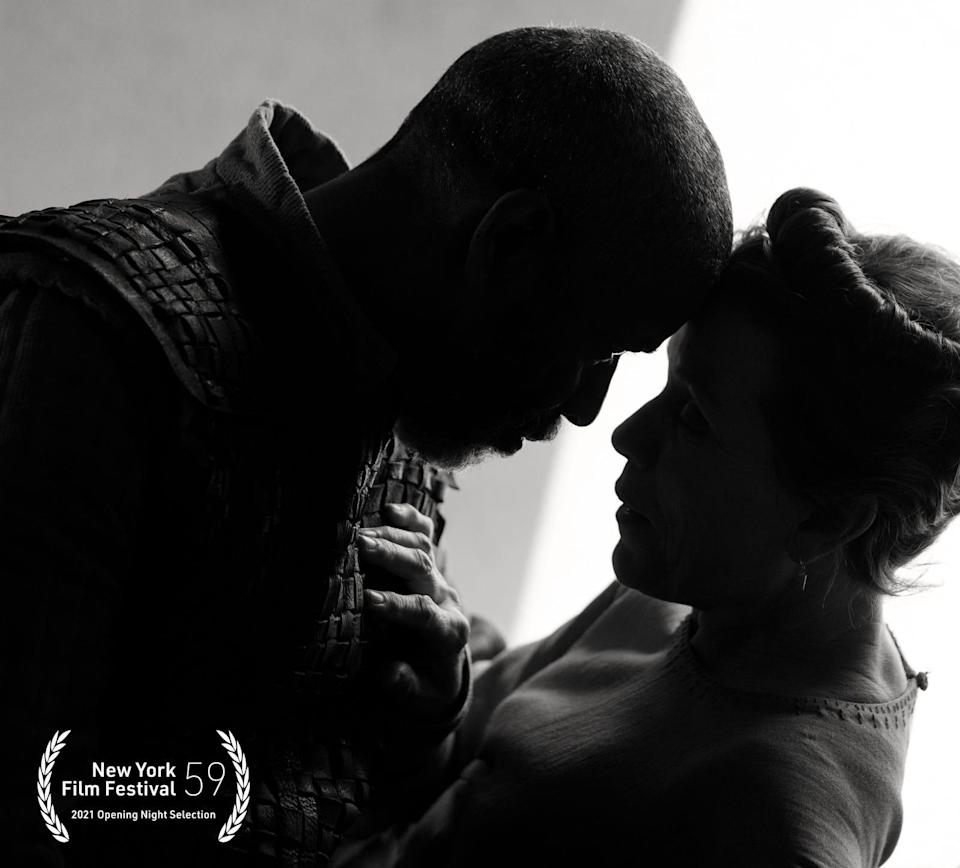 """Denzel Washington, left, and Frances McDormand take on the Bard in the forthcoming """"The Tragedy of Macbeth."""""""