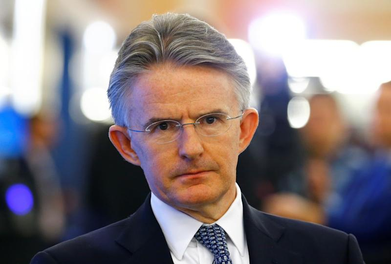 John Flint stepped down as the CEO of HSBC on Monday. Photo: Arnd Wiegmann/Reuters