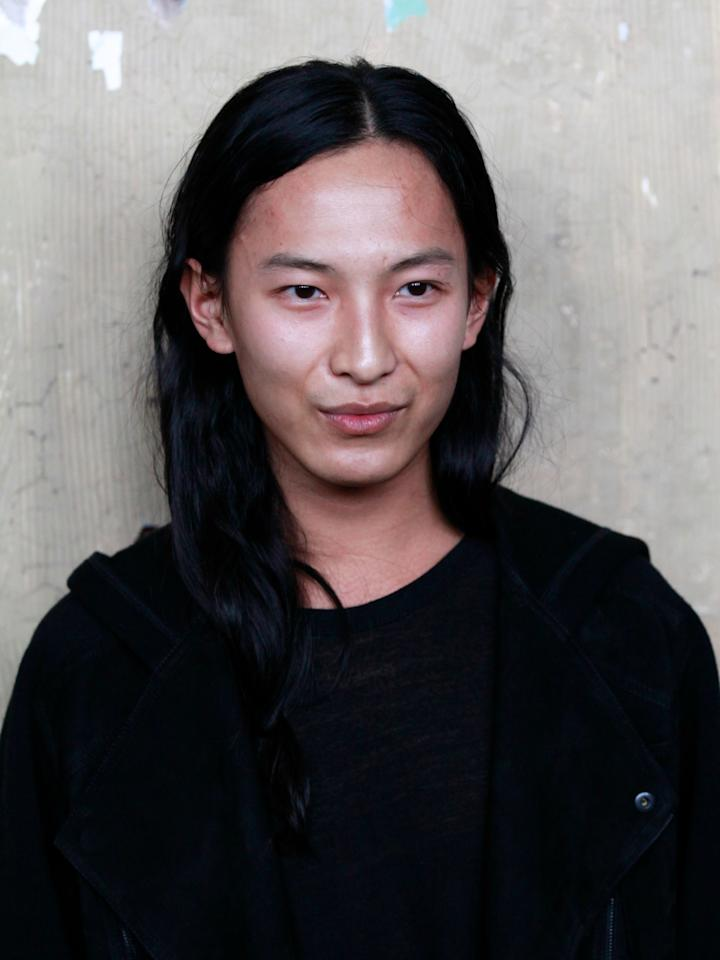 NEW YORK, NY - OCTOBER 23:  Designer Alexander Wang attends the Maison Martin Margiela & H&M Global launch party at 5 Beekman on October 23, 2012 in New York City.  (Photo by Charles Eshelman/FilmMagic)
