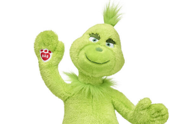 Build-a-Bear has launched a Christmas Grinch toy for 2019