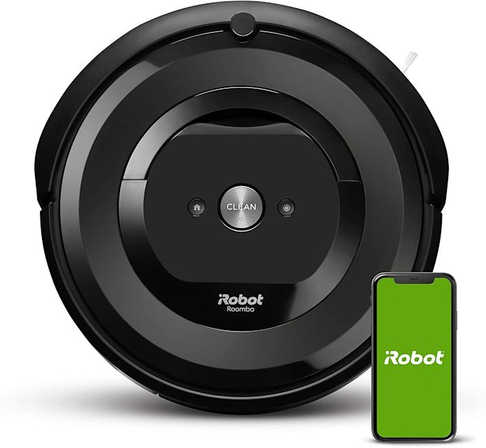 "Sit back, relax and let this gadget clean up messes around the house. It's controllable via the iRobot HOME app and runs up to 90 minutes before automatically returning to its charging dock. <br /><br /><strong>Promising review:</strong> ""This product is worth every penny. My dog has fine, short hair and sheds horribly. <strong>This device worked amazingly on hardwood floors! The extra suction power for pet hair makes a huge difference. Even on our area rugs, the Roomba does a great job. If you are debating on whether or not to get this device, it makes life a whole lot easier with dusting and sweeping.</strong> The battery life is great — we keep ours on the charger while we aren't using it. Setup and controlling the Roomba is very simple. It can be controlled straight from your phone. When the Roomba is done with its job or low on battery, it automatically returns to the charging port while sending you a notification of its movement. Overall, great product! Would recommend this to everyone."" —<a href=""https://amzn.to/3shLaWF"" target=""_blank"" rel=""nofollow noopener noreferrer"" data-skimlinks-tracking=""5312233"" data-vars-affiliate=""Amazon"" data-vars-href=""https://www.amazon.com/gp/customer-reviews/RDSDX1GFHBVEH?tag=bfheather-20&ascsubtag=5312233%2C19%2C33%2Cmobile_web%2C0%2C0%2C33467"" data-vars-keywords=""cleaning"" data-vars-link-id=""33467"" data-vars-price="""" data-vars-product-id=""15930658"" data-vars-retailers=""Amazon"">Amelia</a><br /><br /><strong>Get it from Amazon for <a href=""https://amzn.to/3ag7A4t"" target=""_blank"" rel=""noopener noreferrer"">$299.99</a>. </strong>"