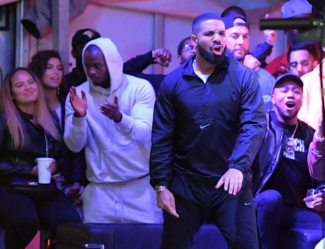 Drake was reportedly told by the NBA to stay away from Game 6 of the NBA Finals in Oakland. (Dan Hamilton-USA TODAY Sports)