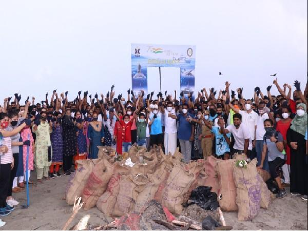Southern Naval Command observing International Coastal Clean-up Day