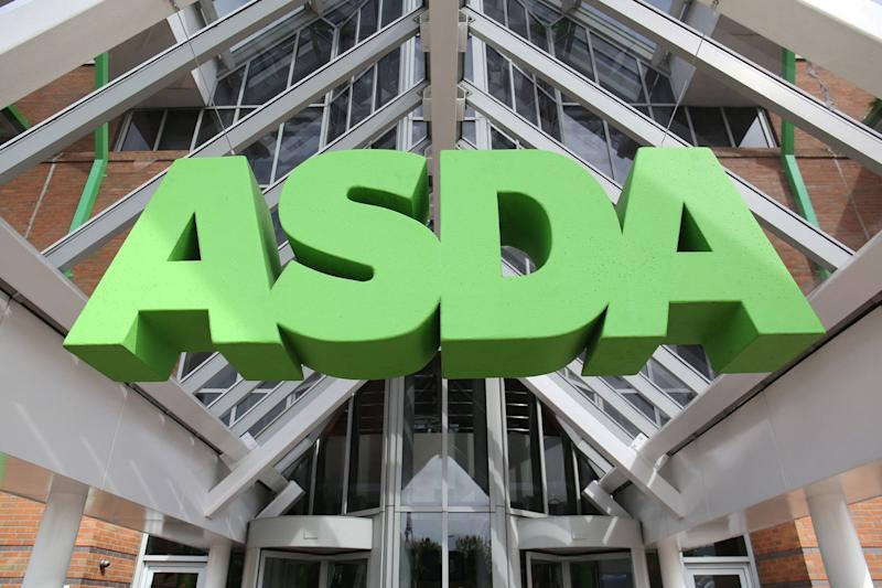 Gruesome discovery: The north London Asda depot delivers to homes across the capital: PA