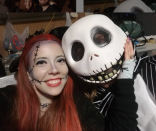 """<p>What's this, what's this? Get spooky as Ragdoll Sally and Jack Skellington from <em>The Nightmare Before Christmas</em>. </p><p><a class=""""link rapid-noclick-resp"""" href=""""https://www.amazon.com/Disguise-Nightmare-Before-Christmas-Skellington/dp/B00ENK0JDG/?tag=syn-yahoo-20&ascsubtag=%5Bartid%7C10072.g.27868801%5Bsrc%7Cyahoo-us"""" rel=""""nofollow noopener"""" target=""""_blank"""" data-ylk=""""slk:SHOP MASK"""">SHOP MASK</a></p>"""