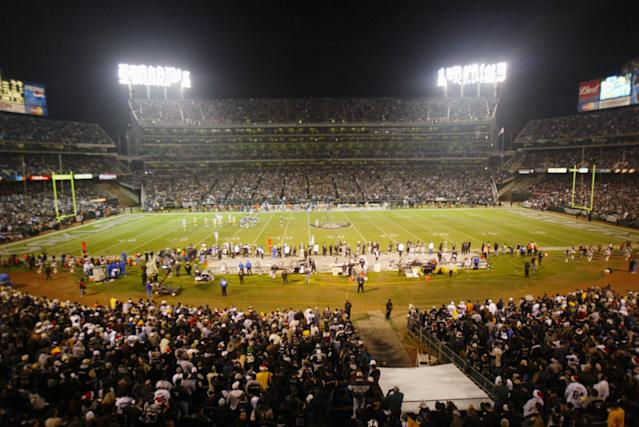 Oakland is reportedly planning to sue the NFL, Raiders over the team's move to Las Vegas. (Photo by Jed Jacobsohn/Getty Images)