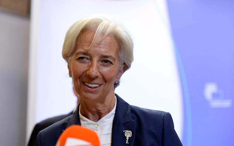 MF chief Christine Lagarde and the eurozone's 19 finance ministers greenlit a payout of 8.5 billion euros to meet debt payments due in July and avoid another summer of Greek crisis