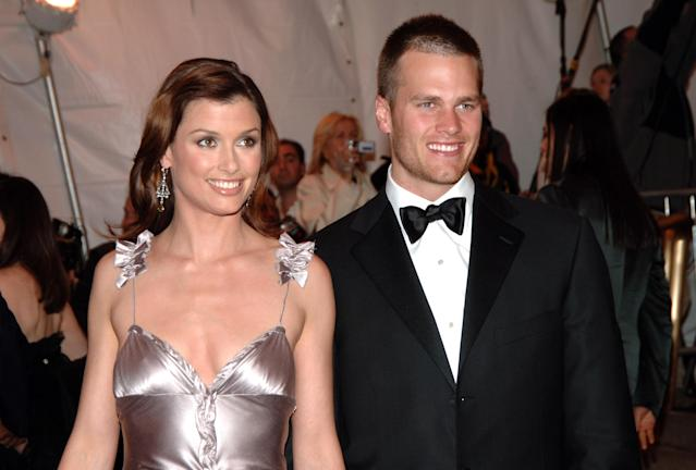 Tom Brady and Bridget Moynahan at the 2005 Met Gala. (Photo: Getty Images)