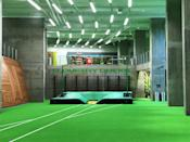 <p>Oregon pole vaulters can practice indoors year round at Hayward Field. </p>