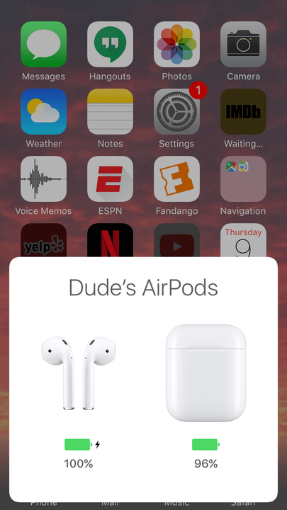 how to change airpod settings