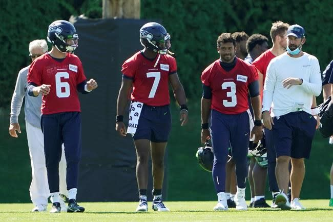 Schottenheimer enjoying view of Seahawks offence from up top