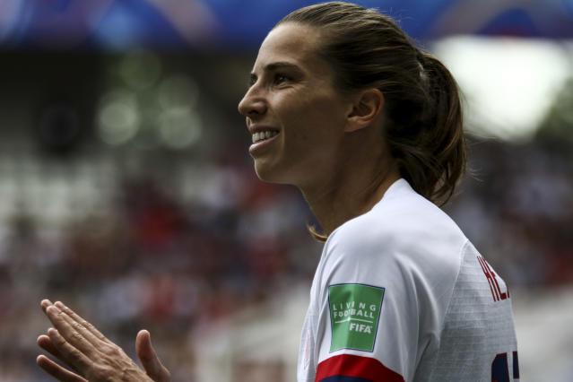 Breaking news: The United States Women's National Team will not let France win on Friday. (Photo by Elyxandro Cegarra/NurPhoto via Getty Images)