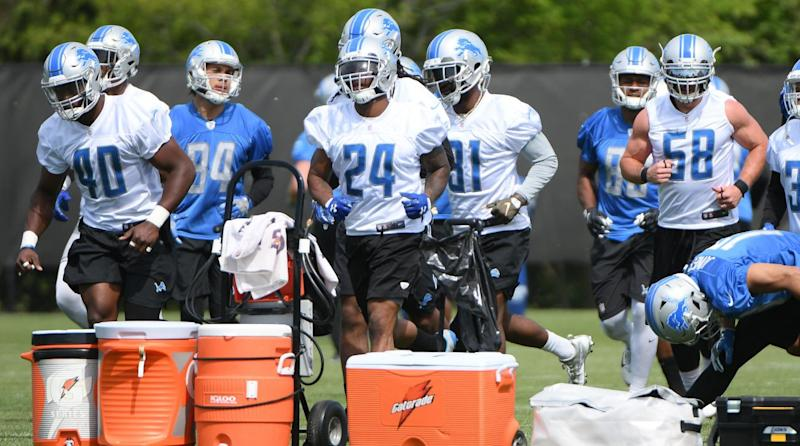 Man is removed from Lions' facility after shouting at players during team mini camp