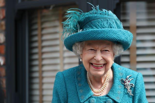 The Queen on Coronation Street (Scott Heppell/PA)