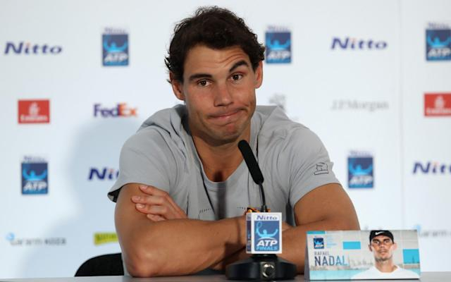 Rafael Nadal has yet to win the World Tour Finals - Getty Images Europe