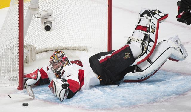 Revenge of Craig Anderson has Senators believing again