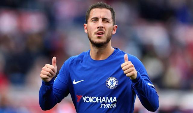 Eden Hazard predicts outcome of Chelsea vs Manchester City
