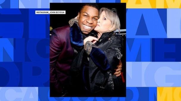 VIDEO: John Boyega talks about working with the late Carrie Fisher (ABCNews.com)