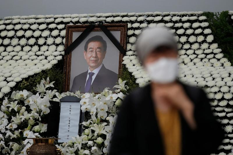 Funeral for Seoul Mayor Held in South Korea as Sexual Harassment Allegation Details Emerge