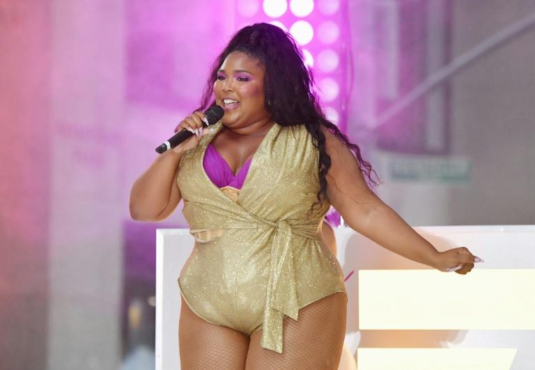 """Lizzo -- seen here performing live on """"The Today Show in New York in August 2019 -- earned the most Grammy nominations with eight"""