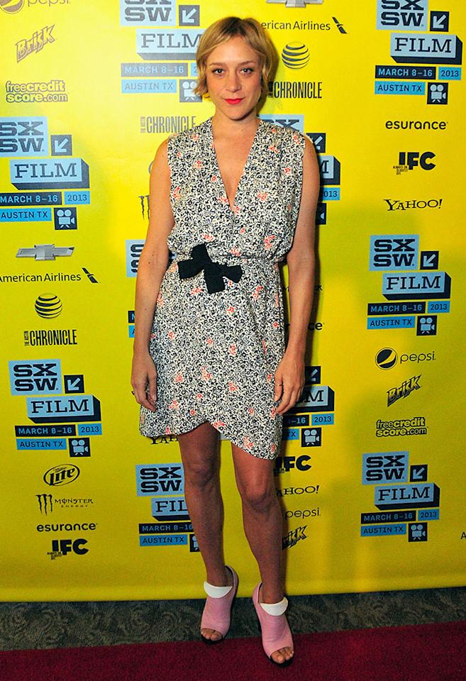 "Chloe Sevigny arrives at the screening of ""The Wait"" during the 2013 SXSW Music, Film   Interactive Festival at Stateside Theater on March 10, 2013 in Austin, Texas.  (Photo by Jordan Naylor/Getty Images)"