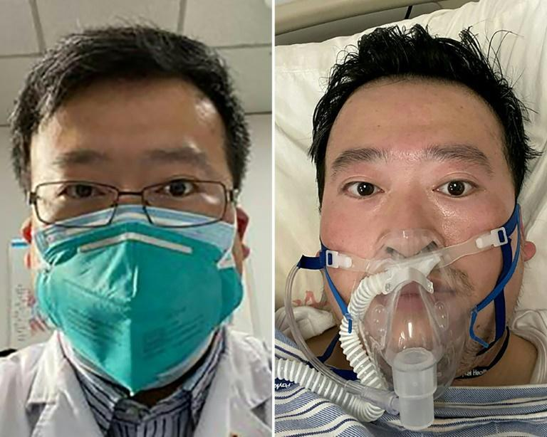 Wuhan doctor Li Wenliang blew the whistle on the mysterious new coronavirus in December 2019 and died in February 2020 after contracting the virus from a patient