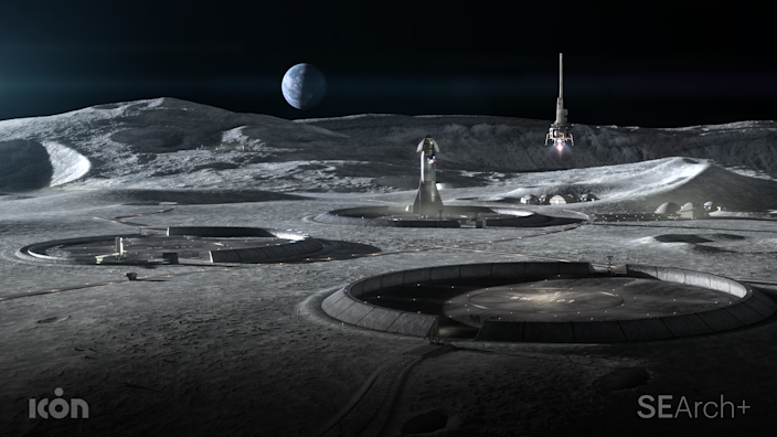 "<div class=""caption""> While many hurdles remain in the path, if successful, the project could pave the way for a permanent habitat on the moon. </div>"