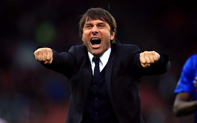<span>Conte is looking to secure the Double in his first season in England</span> <span>Credit: PA </span>