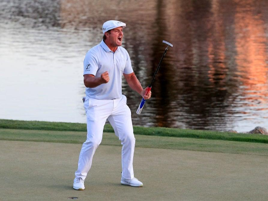 DeChambeau has gained 50lbs since training with RoskopfGetty Images
